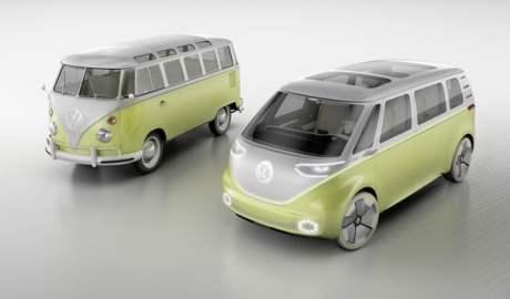 Legendarny Volkswagen Transporter powraca jako I.D. Buzz samochód elektryczny