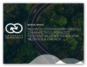Polska firma Handerek Technologies opracowała unikatową technologię wytwarzania paliw z plastiku