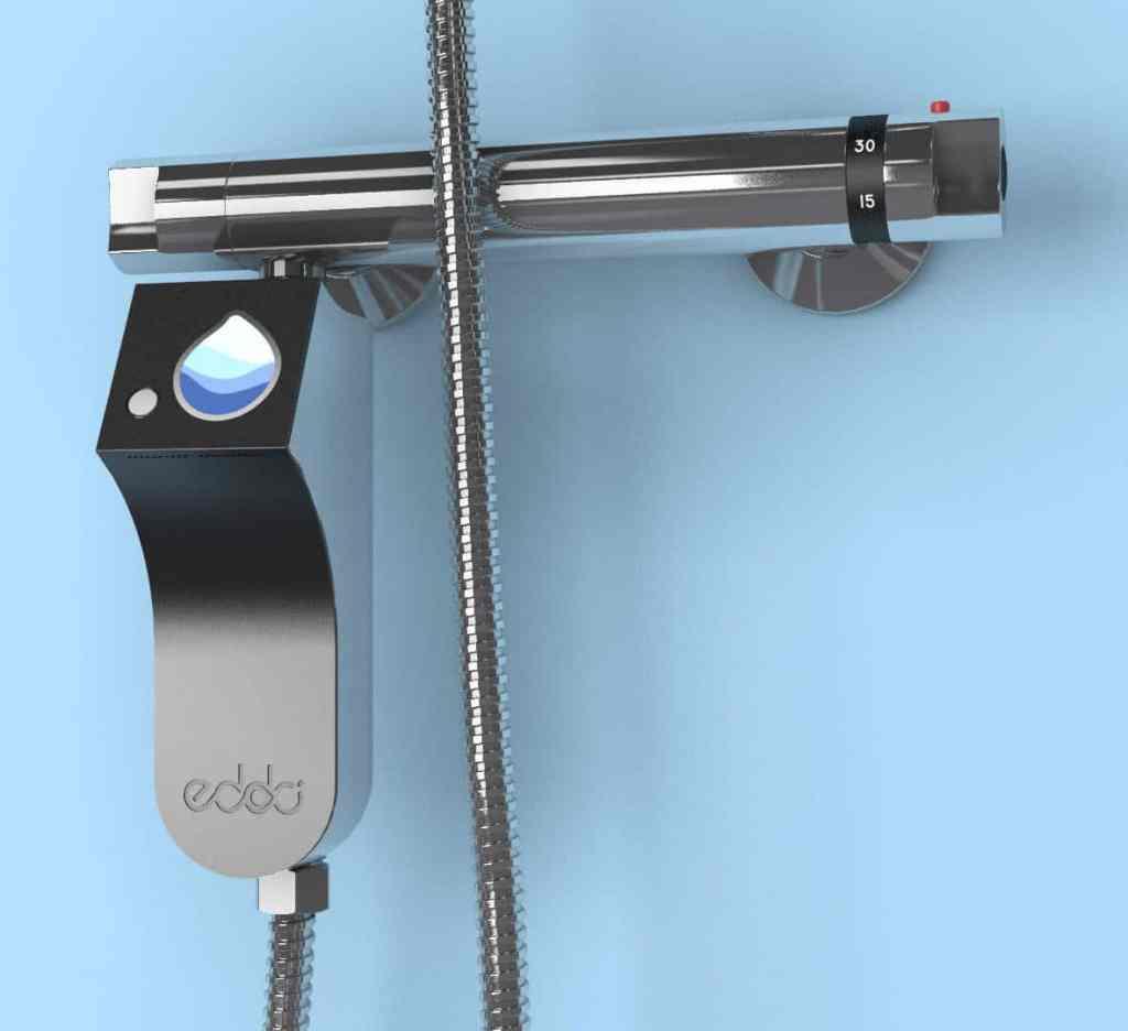 Eddo.drop czyli urządzenie prysznicowe które pomoże znacznie zmniejszyć zużycie wody i energii