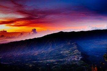 2015 rok - Indonezja - ogromne i długotrwałe pożary lasów