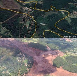 2019 rok, 25 stycznia -Brazylia - pęknięcie tamy lokalnej kopalni żelaza