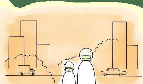 Zanieczyszczenie powietrza, zwłaszcza cząstek o bardzo małej średnicy wiąże się ze wzrostem ciśnienia tętniczego