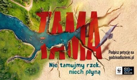 Nie tamujmy rzek, niech płyną! apeluje WWF Polska