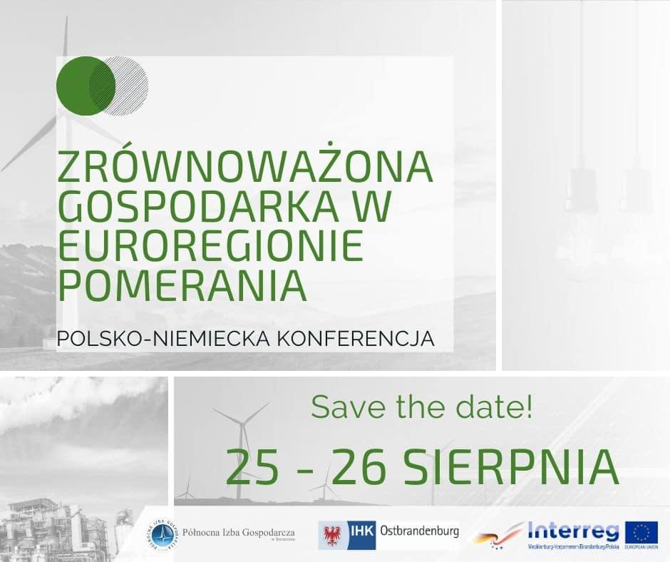 Zrównoważona gospodarka w Euroregionie Pomerania