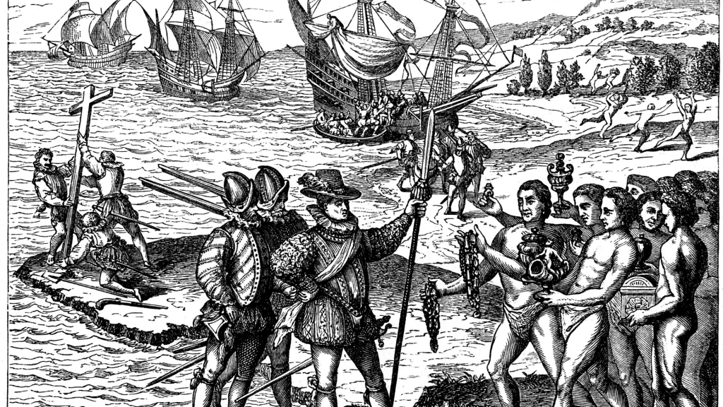 Odkrycie Ameryki przez Krzysztofa Kolumba