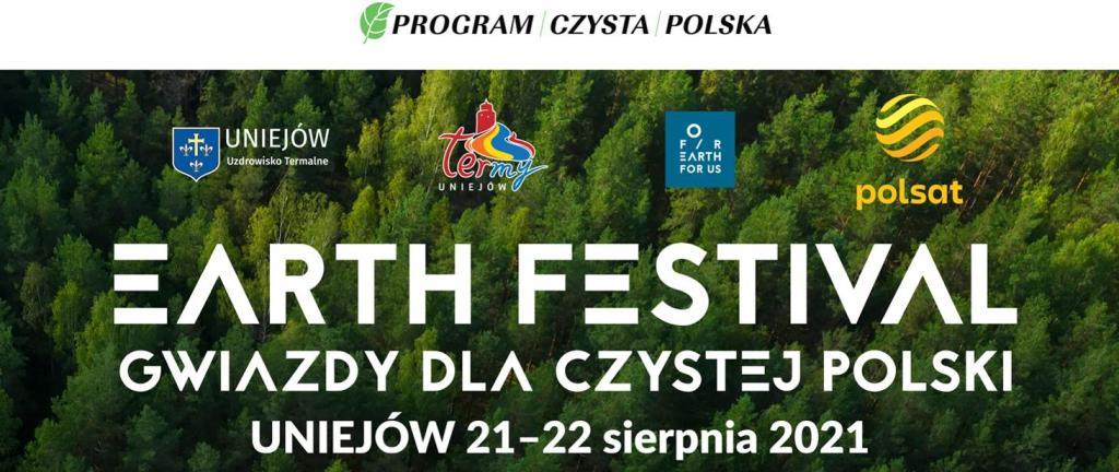 Już w ten weekend 21 i 22 sierpnia odbędzie się Earth Festival Uniejów 2021