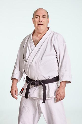 Sensei David Heldman. Instructor at West Los Angeles Karate