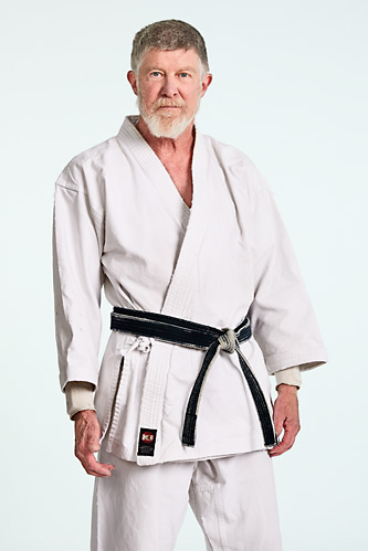 Sensei Mak King. Instructor at West Los Angeles Karate