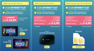günstiger Datentarif im o2-Netz