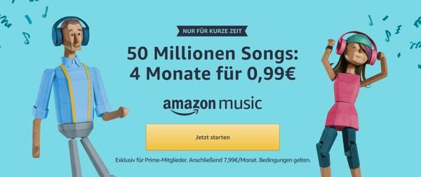 Amazon Music kostenlos testen