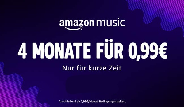 Amazon Music Unlimited gratis testen
