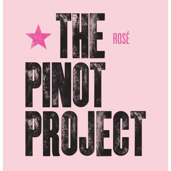 Flattened table from The Pinot Project's Rosé a Pinot Noir from Veneto Italy