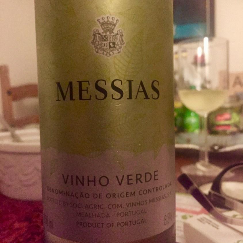 Lable from Bottle of Messias Vihno Verde N.V.