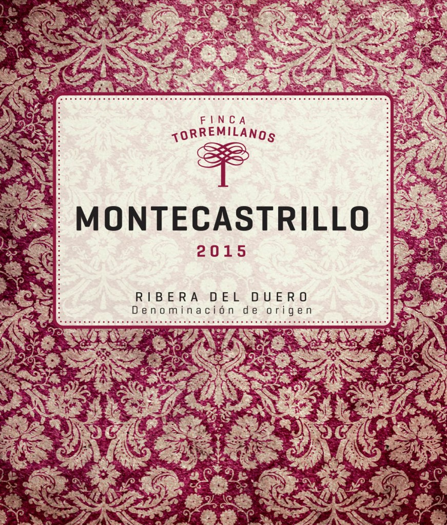 Label from bottle of Montecastrillo Ribera del Duero 2015