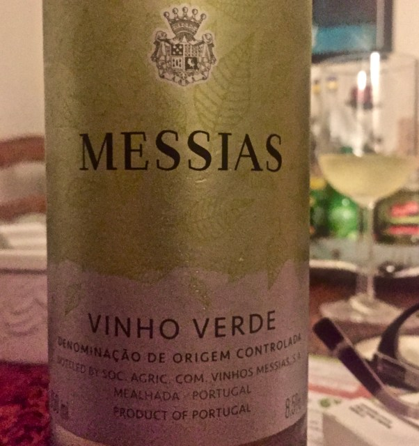 Label from Bottle of Messias Vihno Verde 2018