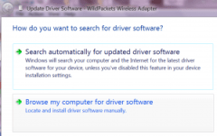 Choose my computer for driver software