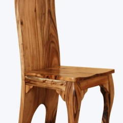 Modern Wood Chair Theradapt Posture Solid Chairs Natural Elegant Rustic