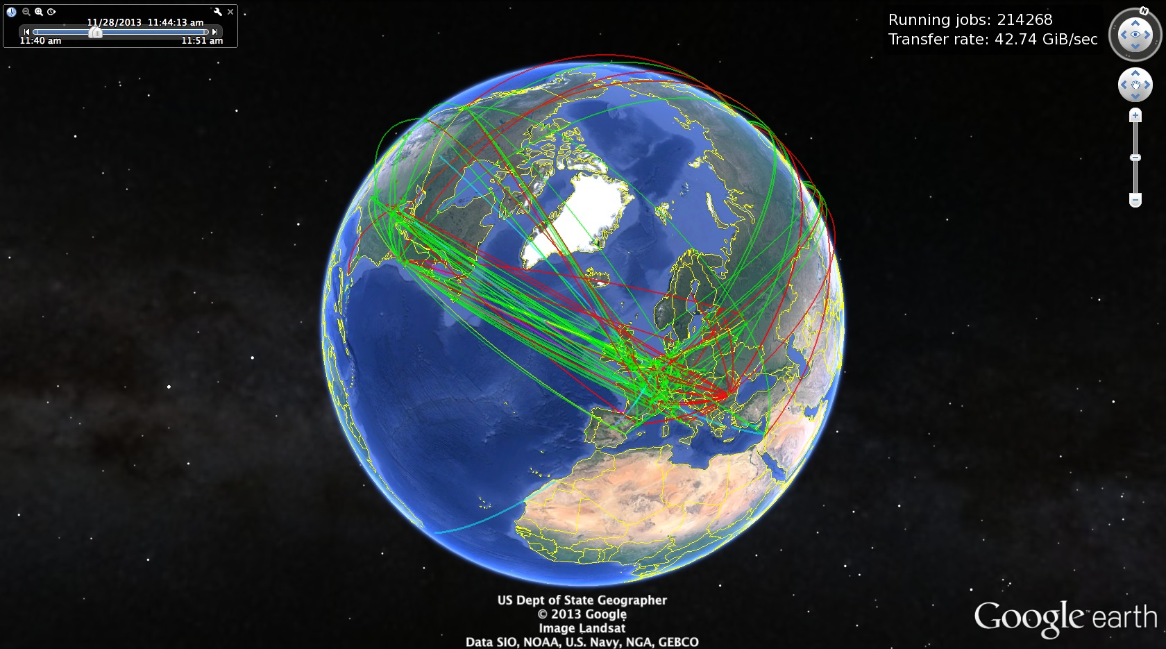 Google Earth In Real Time | CV Writing Services