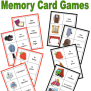 Classic Memory Game To Help With Vocabulary Retention