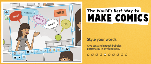 Create Online Comic Strips in Foreign (World) Languages with Pixton (French, Spanish) wlteacher.wordpress.com