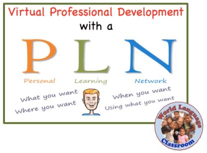Virtual Professional Development with a Personal Learning Network (PLN) wlteacher.wordpress.com
