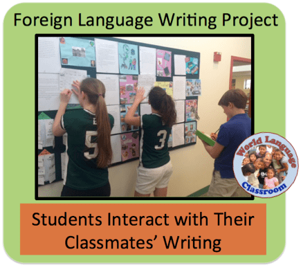 Foreign (World) Language Writing Project. (French, Spanish) wlteacher.wordpress.com