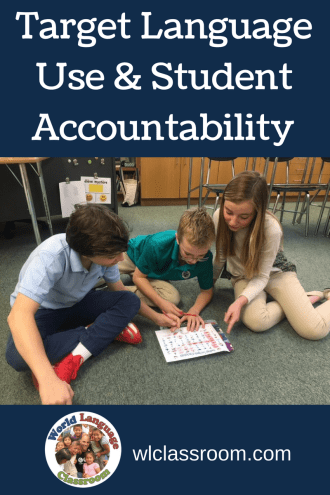 Target Language Use and Student Accountability (French, Spanish) www.wlclassroom.com