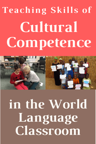 Teaching Skills of Cultural Competency in the World Language Classroom (French, Spanish) wlclassroom.com