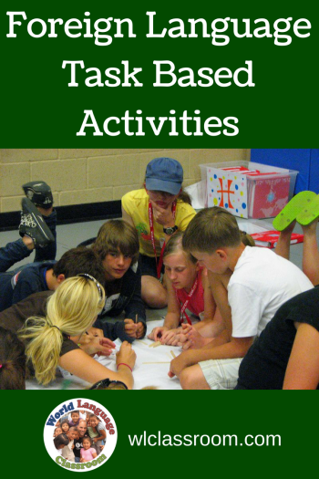 Foreign Language Exercises and Tasks, Task-Bsed Activities (French, Spanish) www.wlclassroom.com