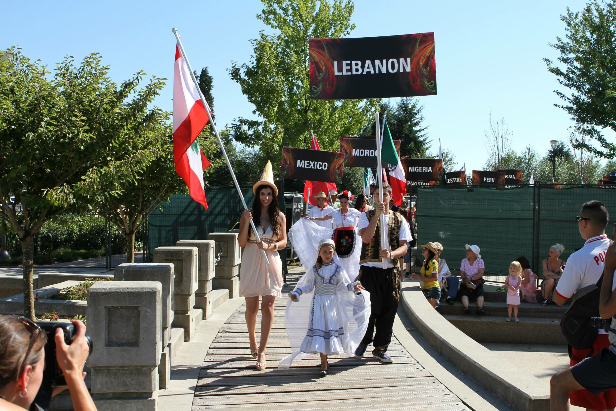 Lebanese delegations at Fusion Festival 2015