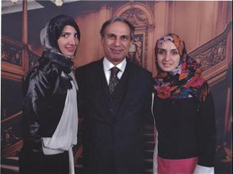 Raed charafeddine and family