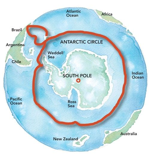 antarctic map Amyr clink