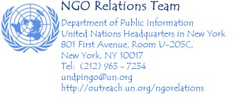NGO  relations logo