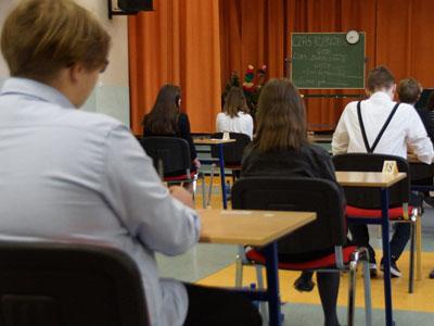 Gimnazjaliści przystąpili do egzaminów