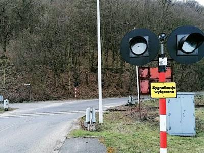 Zmiany na przejeździe kolejowo-drogowym we Wleniu