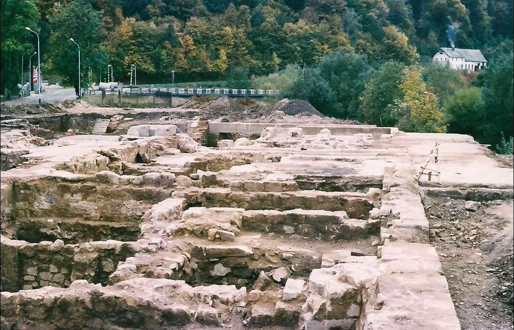 Unikalne fotografie ruin młyna we Wleniu