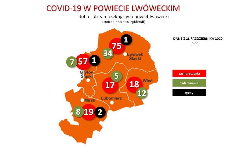 Kolejni chorzy w powiecie i gminie