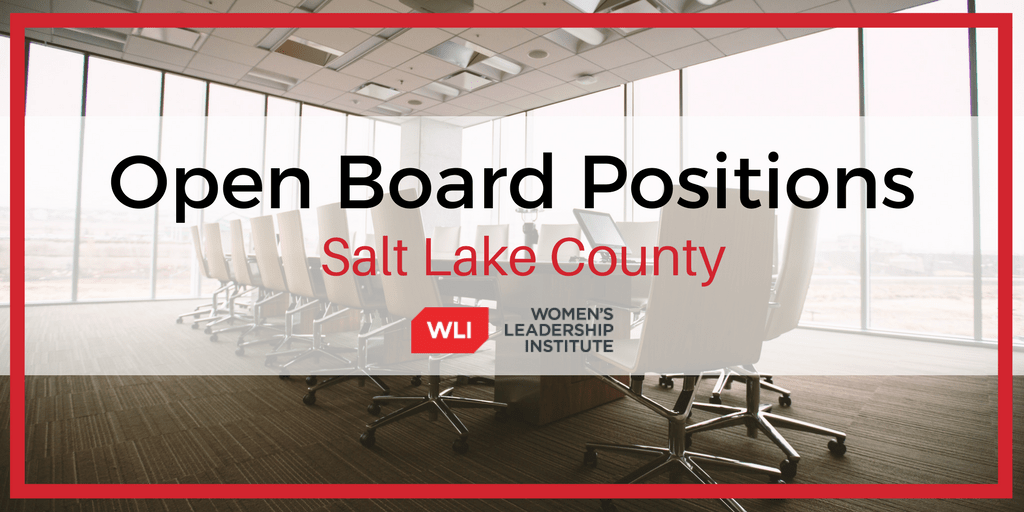 March Open Board Positions in Salt Lake County