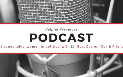Podcast: Pat Jones talks about women in politics