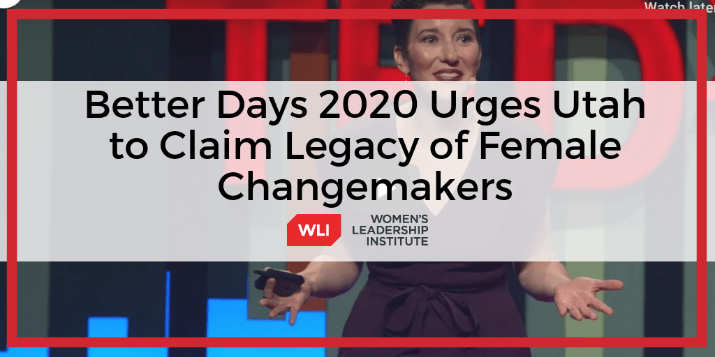 Pioneer Woman Tour 2020 CEO of Better Days 2020 Urges Utah to Reclaim Our Pioneer Legacy