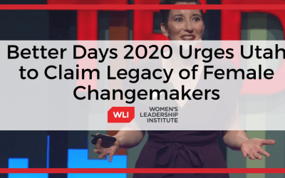 CEO of Better Days 2020 Urges Utah to Reclaim Our Pioneer Legacy of Female Changemakers