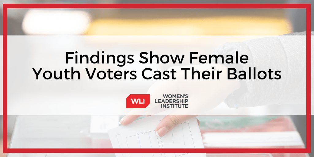 Findings Show Female Youth Voters Show Up to Cast Their Ballots