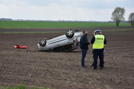 Śmiertelny wypadek koło Łuszkowa (1)