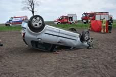 Śmiertelny wypadek koło Łuszkowa (12)