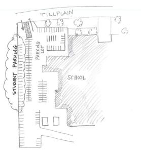 Parking Location for Students