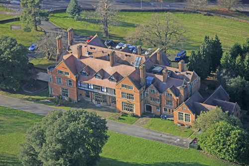 Mill Hall School Aerial View