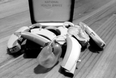 All my old hearing aids