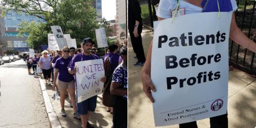 Nurses go on strike at 2 Rhode Island hospitals - ABC6 ...