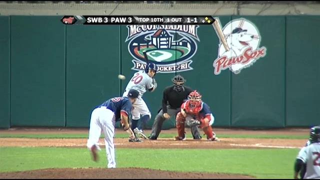 PawSox Turn Triple Play But Lose to the RailRiders in
