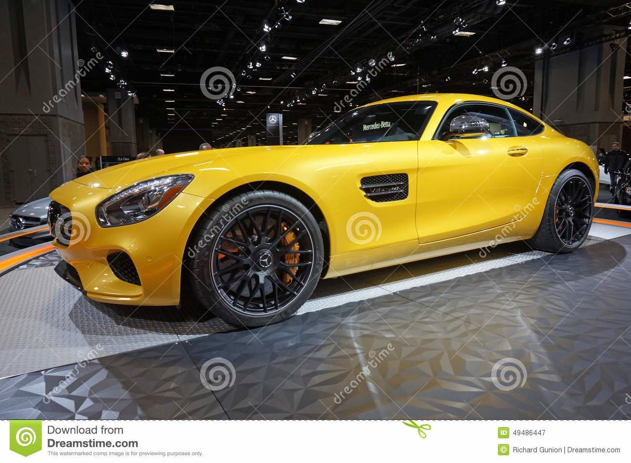 New Mercedes Benz Sports Car Editorial Photography Image Of On This Month